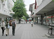 great car-free shopping areas