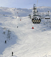 4 seat express chairlift