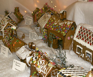 Ginger-bread town in Stavanger - pepperkakebyen