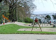 the hillside playground