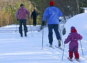 cross-country skiing for all ages and abilities