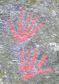 hand symbols to represent Gods that should not be dipicted