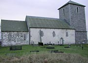 the church seen from the north side