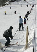 there is a free rope tow for beginners